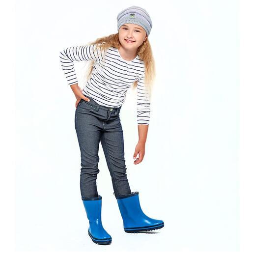 Overdag een stoere jeans voor meisjes en jongens.
