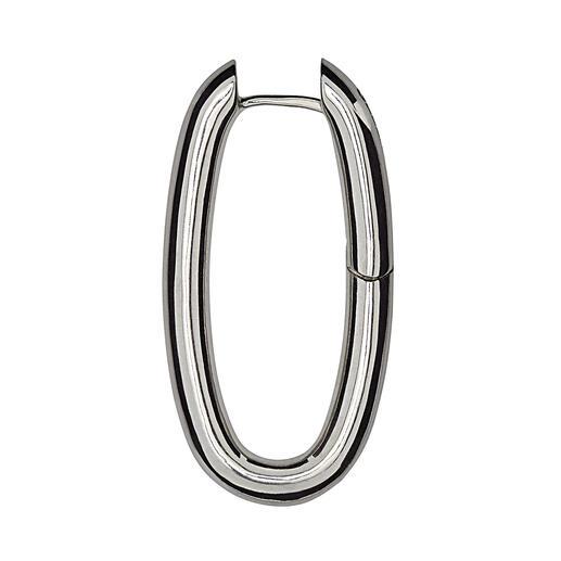 Zilveren oorringen of Tahiti-kweekparel Creëer in een handomdraai een nieuwe look – door de grote parel aan de ring te hangen.
