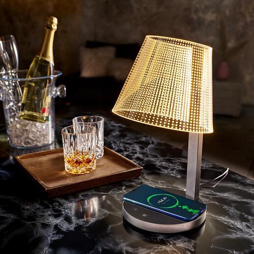 Magische design-tafellamp Het lijkt wel magie: lichtpunten die lijken te zweven zorgen voor sfeervolle verlichting. Naar wens in te stellen.