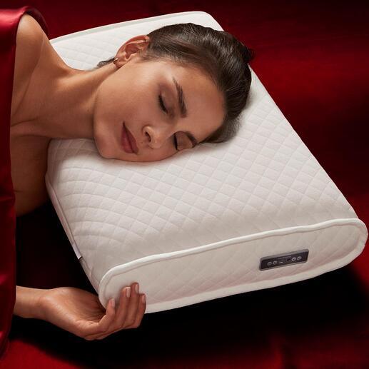 medisana® SleepWell-kussen Ontwikkeld voor astronauten: wetenschappelijk samengestelde geluiden bevorderen de vermindering van stress en helpen de slaapkwaliteit te verbeteren.