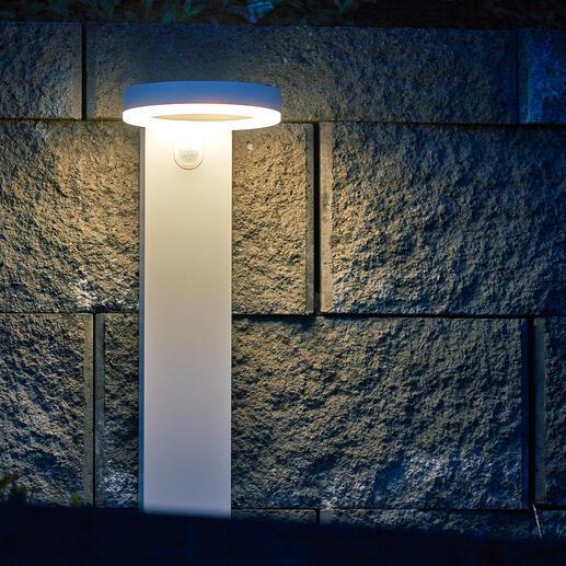 De soort verlichting is met een simpele druk op de knop in te stellen.
