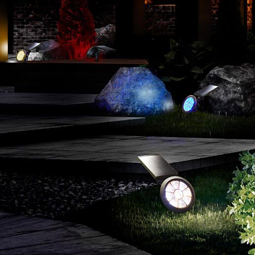 Solar-tuinlamp met kleurenwissel