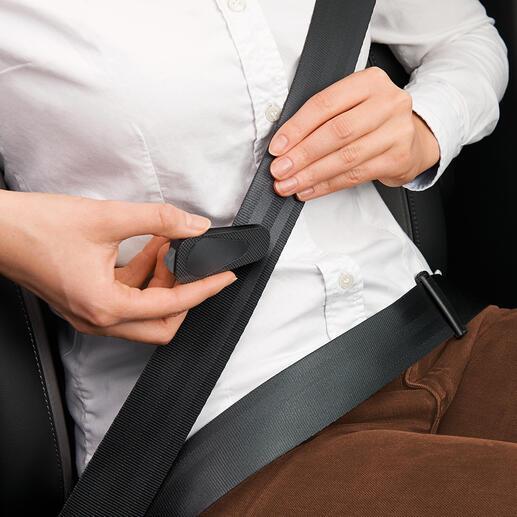 Met de geïntegreerde gordelsnijder kunt u uw veiligheidsgordel binnen enkele seconden doorsnijden.