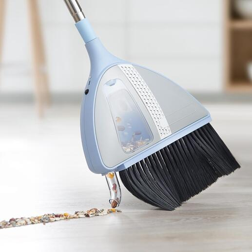Om de zuigfunctie in te schakelen drukt u de zuigbuis licht tegen de vloer.