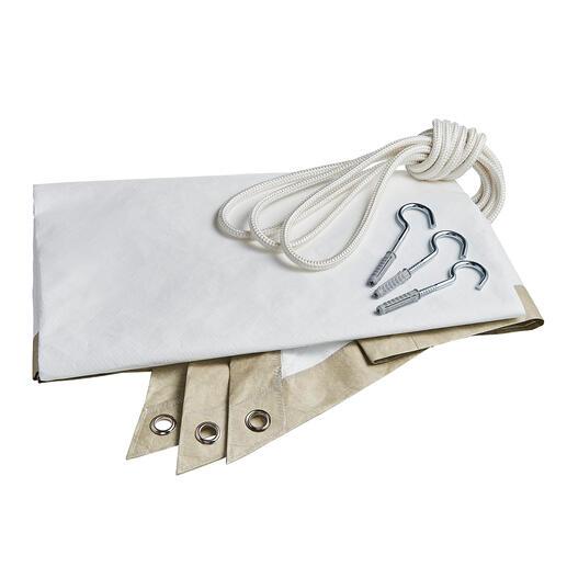 Het materiaal van zeer dicht polyethyleen lijkt op chic Japans papier.