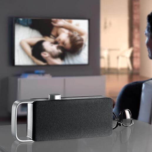 TV-geluidsversterker OSKAR Een uitkomst bij het televisiekijken: tv-geluidsversterker van de nieuwste generatie.