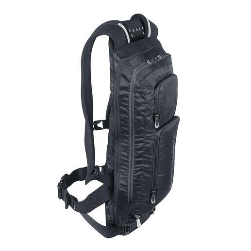 Komperdell rugzak met rugbeschermer Waarschijnlijk de veiligste rugbeschermer voor op de fiets. Is tegelijkertijd een comfortabele rugzak.
