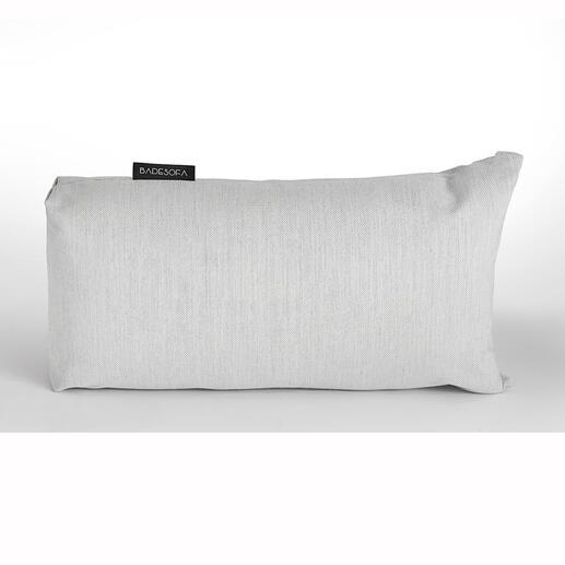 Kussen voor in de badkuip Vanaf nu ontspant u extra in bad met dit zachte premium-badkussen. Met de hand gemaakt, voelt aan als textiel.