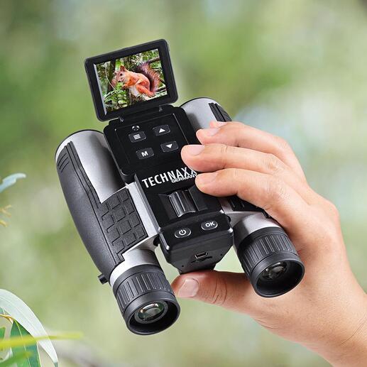Full HD-verrekijkerTX-142 Zeer goede verrekijker met Full HD-camcorder. Zelfs bij slechte lichtomstandigheden.