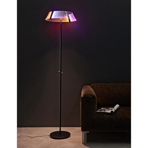 Design-vloerlamp2.0 Vloerlamp 2.0: hightech met bekroond design.
