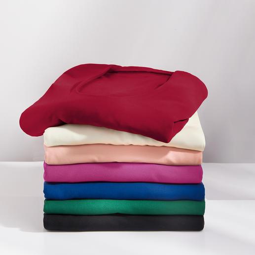 Blazer-shirt - Dit gemakkelijk schoon te houden shirt vervangt menigmaal uw blouse.