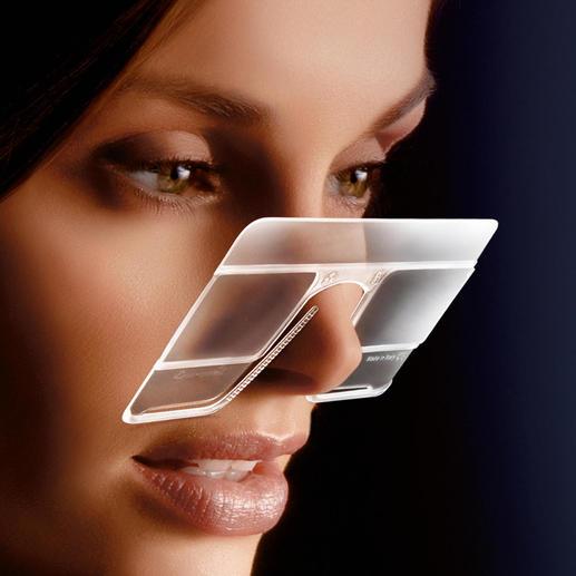 eyeCard®, set van 2 Met 2,5-voudige vergroting. Praktisch voor thuis & onderweg. Ook voor brildragers.