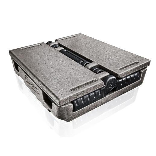 Na gebruik in slechts enkele handgrepen ingeklapt, legt deze lichtgewicht geen beslag op kostbare ruimte in uw kofferruimte of in uw berging.