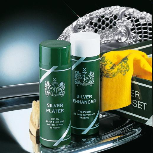 Silver-Care-Set Silver Plater verzilvert tijdens het poetsen.