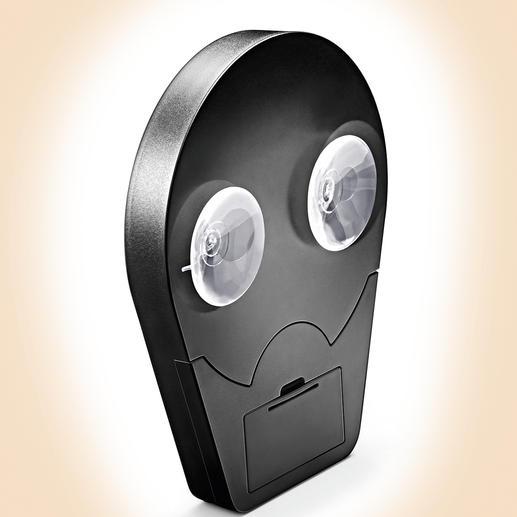 Dankzij 2 zuignappen aan de achterzijde blijft uw vergrootspiegel op gladde tegels of een aanwezige spiegel plakken.