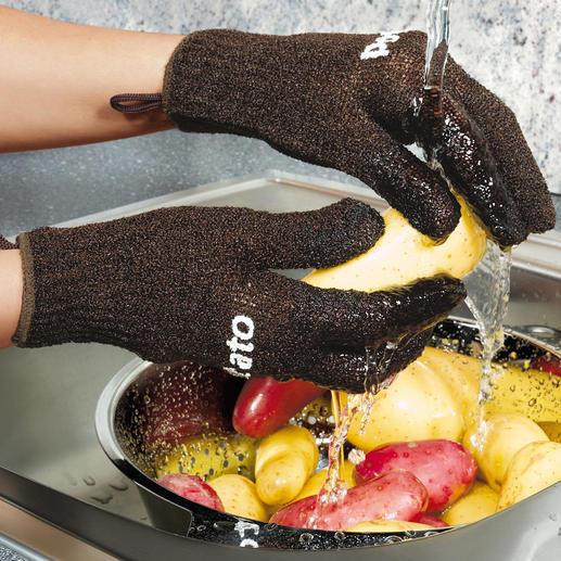 Aardappelhandschoenen De geniaalste uitvinding sinds het bestaan van aardappels.