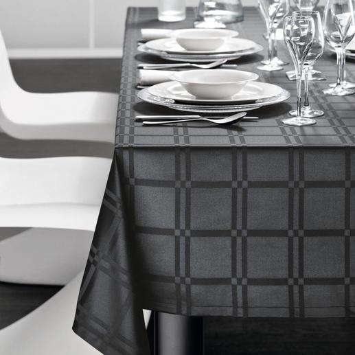 tafelkleed, zwart