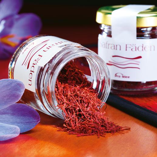 Iraanse saffraan De beste saffraan hoeft geen vermogen te kosten. Een wereldwijd geliefde zeldzaamheid.