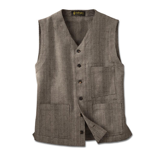 Hollington-vest, tweed Onverwoestbaar design.