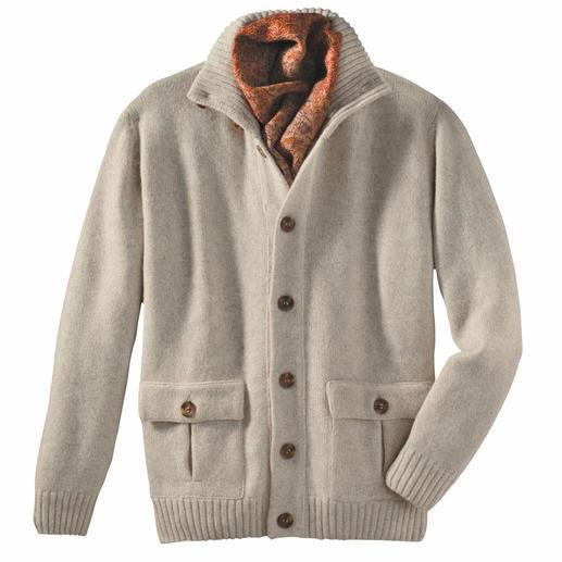 Gebreid vest, Royal Alpaca Blijft jarenlang mooi en is een heel chic cadeau.