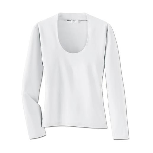 Dit gemakkelijk schoon te houden shirt vervangt menigmaal uw blouse. Dit gemakkelijk schoon te houden shirt vervangt menigmaal uw blouse.