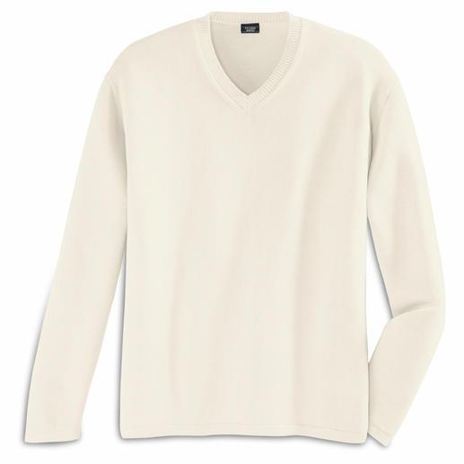 Pima-Pullover Pima-Cotton, 12 steken: precies de goede zomerpullover.