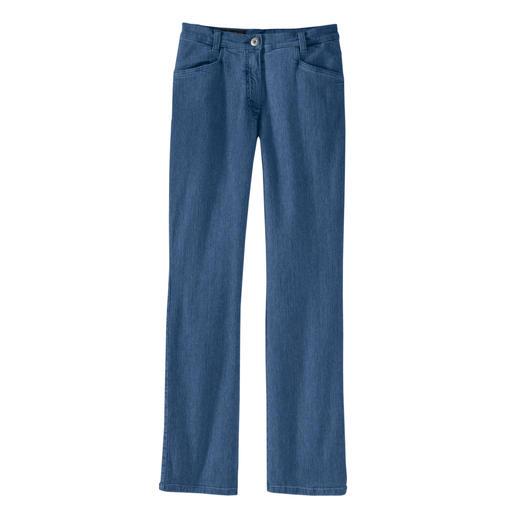 Een platte buik, een strak achterste en een slanke taille. De magic-jeans vormt uw figuur als een modellerende broek – maar zit desondanks heel comfortabel.