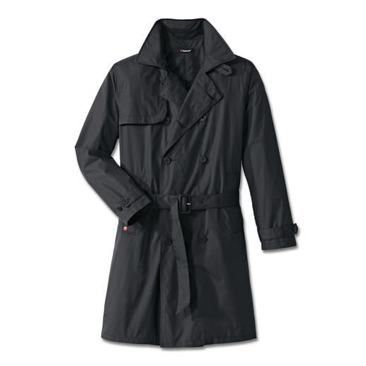 Knirps® regen-trenchcoat, heren Waterafstotend en ademend. Klein opvouwbaar en heerlijk licht. Wasbaar en sneldrogend.