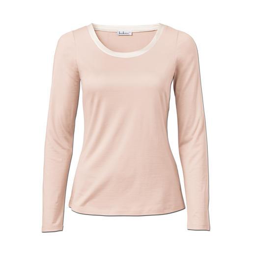 Luxe zijden tuniekshirt Overleeft generaties goedkopere shirts.