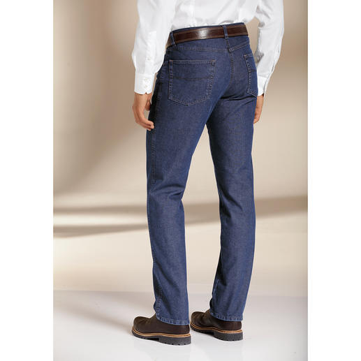 Five-pocket thermojeans