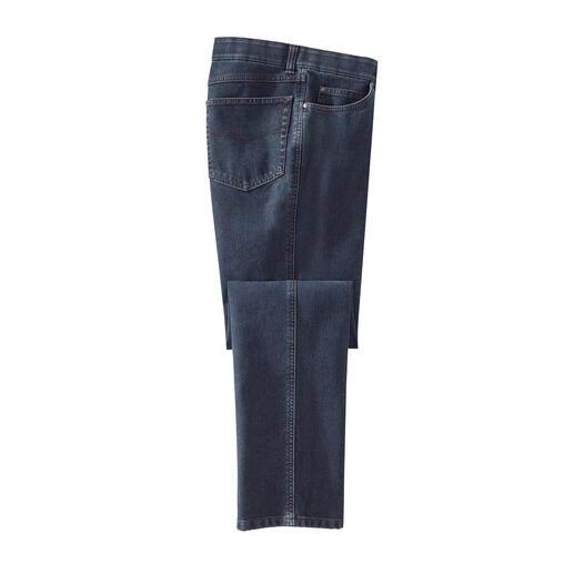 Five-pocket thermojeans De jeans voor de winter: zacht verwarmend. Maar desondanks ongeëvenaard licht.
