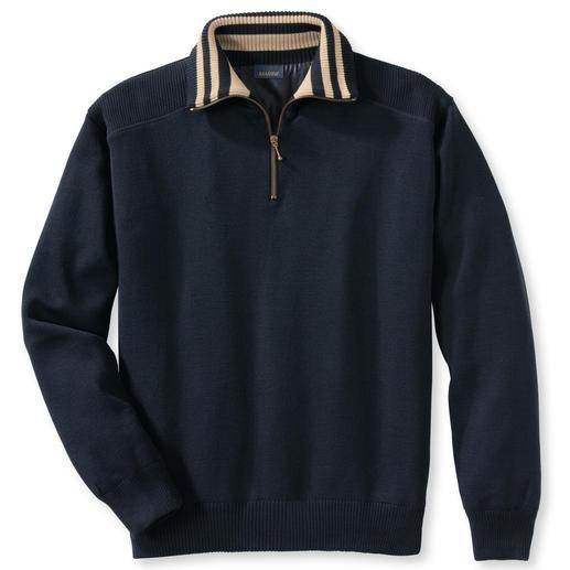 Weerbestendige trui Uw meest sensationele bescherming tegen slecht weer is een fraaie trui. Warm, waterafstotend, winddicht.