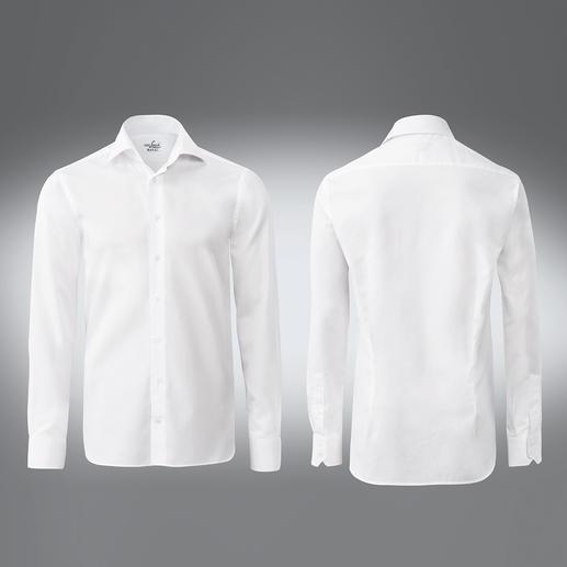 van Laack 'Royal': alles wat u van een hoogwaardig overhemd verwacht. Het beste katoen. Eersteklas afwerking. Gemakkelijk te strijken uitvoering.
