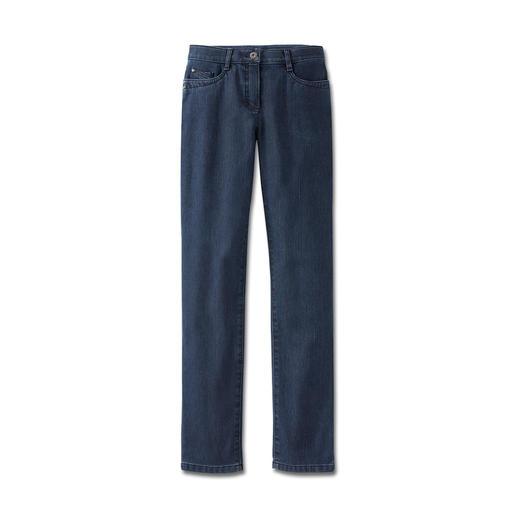 Slanke thermo-jeans Verwarmend maar toch lekker licht – de jeans voor de winter.