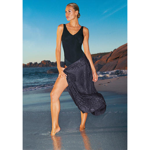 Zwart badpak Zit perfect en vleit uw figuur.