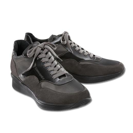 Samsonite Footwear sneaker 'Satin Antraciet' De elegante sneaker. Ideaal op reizen. Extra licht. Supercomfortabel. Oneindig veelzijdig.