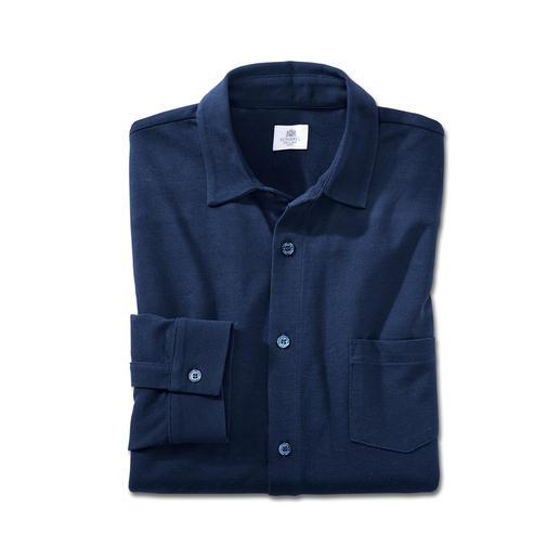 Sunspel pima-piqué-overhemd Misschien wel uw luchtigste en prettigste zomeroverhemd.