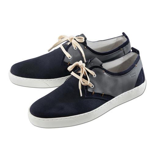 Shoemaker-sneakers Stijlvolle leren sneakers made in Portugal. Voor een zeer aantrekkelijke prijs.
