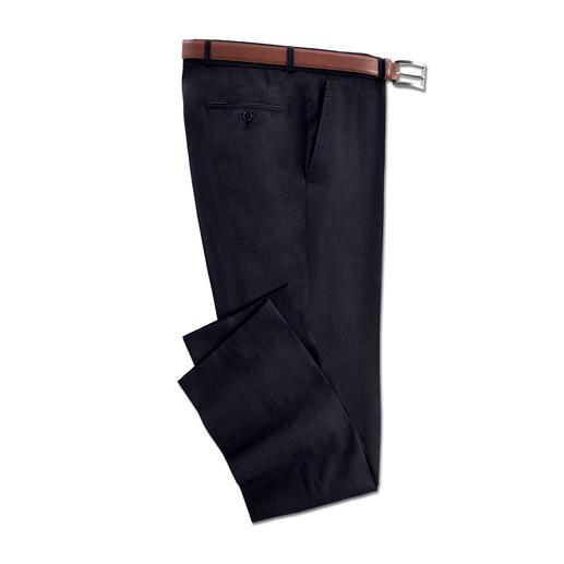 Combinatie-kostuumpantalon Super-120 Deze broek is een mooie aanwinst voor uw garderobe.