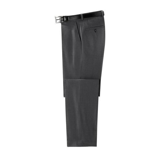 Club of Comfort comfortbroek Zeven zakken. Geen kreukels. Geen vlekken. De voordelen van een comfortbroek, in een verzorgde business-look.