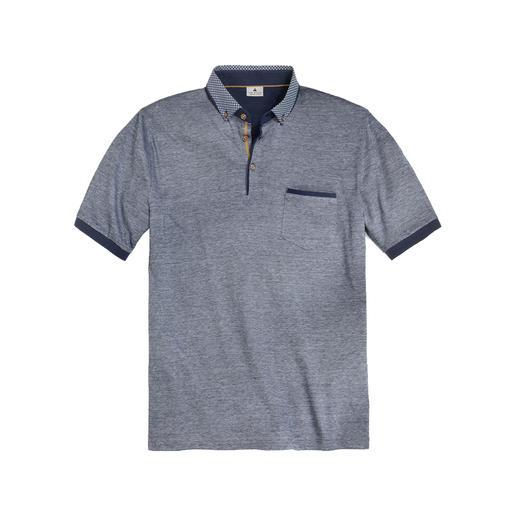 Gentleman-polo van Maselli Veel eleganter dan de meeste poloshirts – en zelfs geschikt om onder een colbert te dragen.