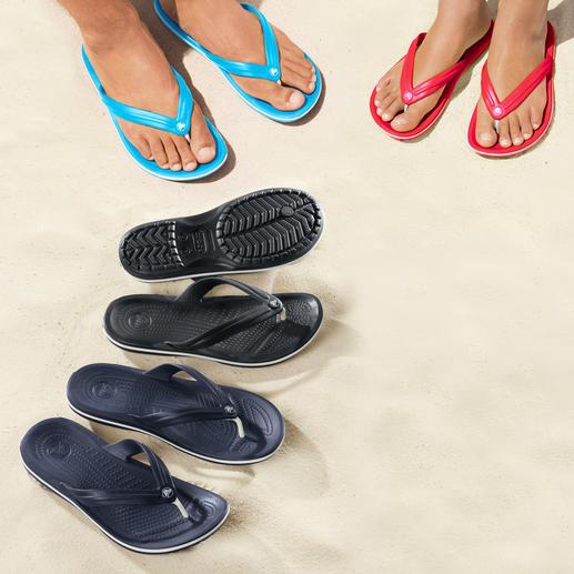 Crocs™ strandslippers Eindelijk: strandslippers met een comfortabel voetbed. Superzacht, dempend en ultralicht.