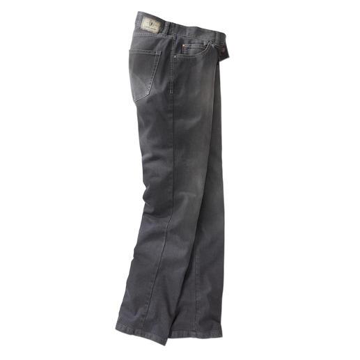 Grey-denimjeans Net zo goed te combineren als indigoblauw. Maar veel stijlvoller en exclusiever.