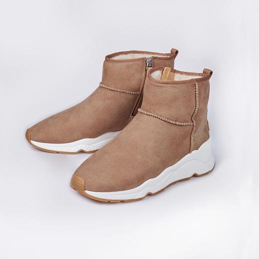 Ash lammy-sneakerboots 100 % modieus. 100 % geschikt voor de winter. De lammy-boots van Ash.