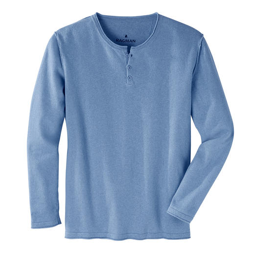 Ragman Casual-pullover Fijntricot van linnen en katoen: zo stijlvol kan een casual look zijn.