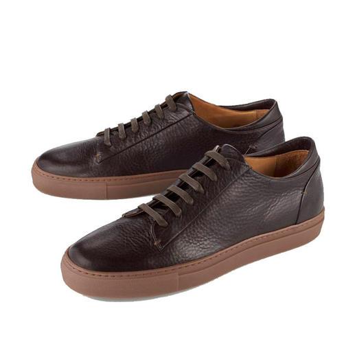 Bernacchini 1905 kalfsleren sneakers Modieus retromodel. Zacht kalfsleer. Made in Italy. Betaalbare luxe van Bernacchini 1905.