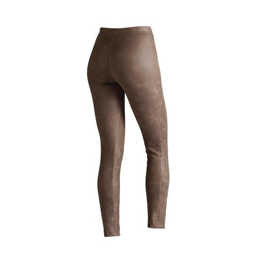 Janice & Jo legging 'faux cuir' Bedrieglijk echte leder-look. Perfecte pasvorm. Goede prijs.