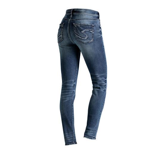 Silver skinny-jeans De originele Silver Jeans uit Canada: perfecte pasvorm. Unieke stijl.