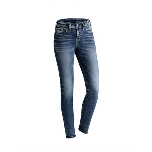 Silver Avery skinny-jeans