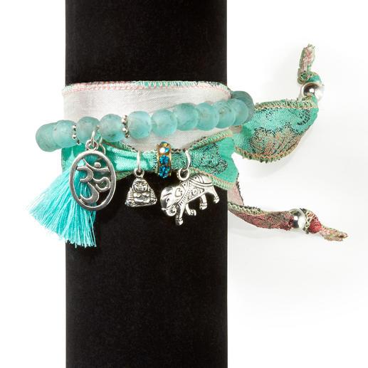 Anisch de la Cara geluksarmbandenset Elk exemplaar is uniek. Met de hand gemaakt in Spanje.
